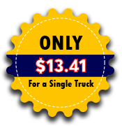 Only $8.91 for a single truck